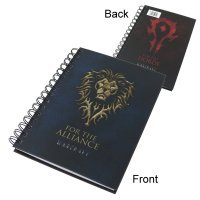 Блокнот World of Warcraft Alliance/Horde Notebook