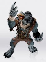 World of Warcraft® Wave 7 Action Figure - Worgen Spy Garm Whitefang
