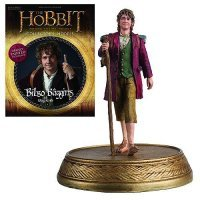 Фигурка с журналом The Hobbit - Bilbo Baggins Figure with Collector Magazine #3