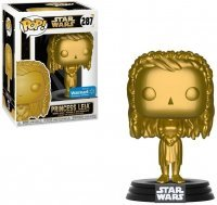 Фигурка Funko Pop Star Wars - Princess Leia Gold Figure #287 (Exclusive)