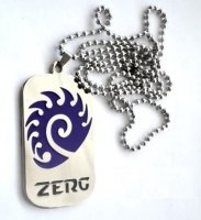 Медальон StarCraft 2 Zerg Necklace (№2)