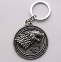 Брелок Game of Thrones Stark Wolf Head №2