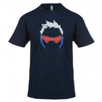 Футболка Overwatch Soldier 76 Shirt (размер L)