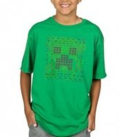 Футболка Minecraft Creeper Glyph Youth Tee (размер XL)