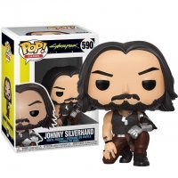 Фигурка Funko Pop Games: Cyberpunk 2077 - Johnny Silverhand Figure фанко Киберпанк