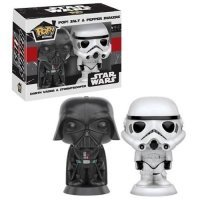 Солонка/Перечница Funko Pop! Star Wars - Darth Vader & Stormtrooper Salt N' Pepper Shakers