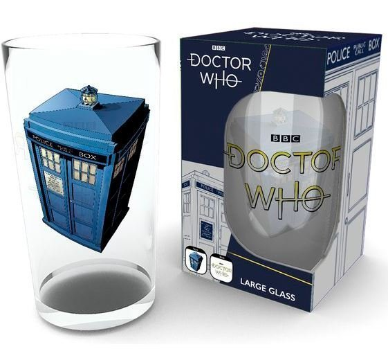 Стакан Doctor Who Tardis Glass