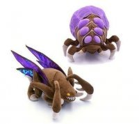 Мягкая игрушка StarCraft Zergling Baneling Plush Limited Edition COMIC CON 2013