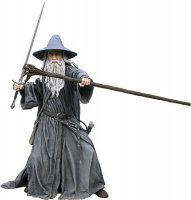 Фигурка - Lord of the Rings/Hobbit GANDALF THE GREY Figure (NECA) 50 см.