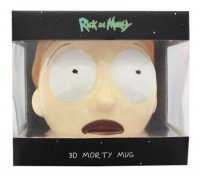 Чашка Рик и Морти - Morty Face 3D Sculpted Mug 20 Oz