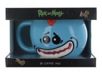 Чашка Рик и Морти - мистер Мисикс Mr. Meeseeks 3D Sculpted Mug 18 Oz