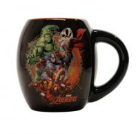 Чашка Avengers - Black 18 oz. Ceramic Oval Mug