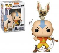 Фигурка Funko Avatar: The Last Airbender - Aang with Momo Figure фанко Аватар Аанг