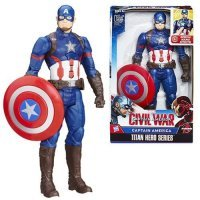 "Фигурки Captain America Civil War Electronic Titan Hero Talking 12"" Action Figure"