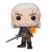 Фигурка Funko Pop Ведьмак (Witcher) - Geralt Геральт Glow in The Dark (GameStop Exclusive)