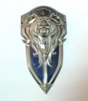 World of Warcraft Alliance Logo Shield Metal #2