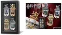 Закладки для книг Harry Potter Hogwarts House Gold Silver Plated Bookmarks