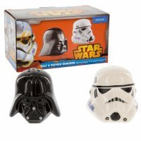 Солонка/Перечница Star Wars Ceramic Salt and Pepper Shakers - Darth Vader and Stormtrooper