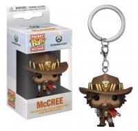 Брелок - Funko Pocket Pop! Overwatch Keychain - McCree