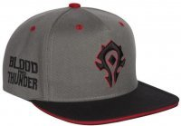 Кепка JINX World of Warcraft - Blood and Thunder Snap Back Hat Бейсболка Орда