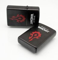 Зажигалка WORLD OF WARCRAFT  Horde (black)