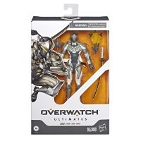 Фигурка Overwatch Ultimates Series Genji (Chrome) Collectible Action Figure