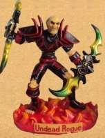 Фигурка  World of Warcraft Undead Rogue  With  Warglaive of Azzinoth Figure