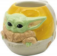 Кружка Star Wars The Mandalorian 3D Sculpted Ceramic mug Baby Yoda 16 OZ