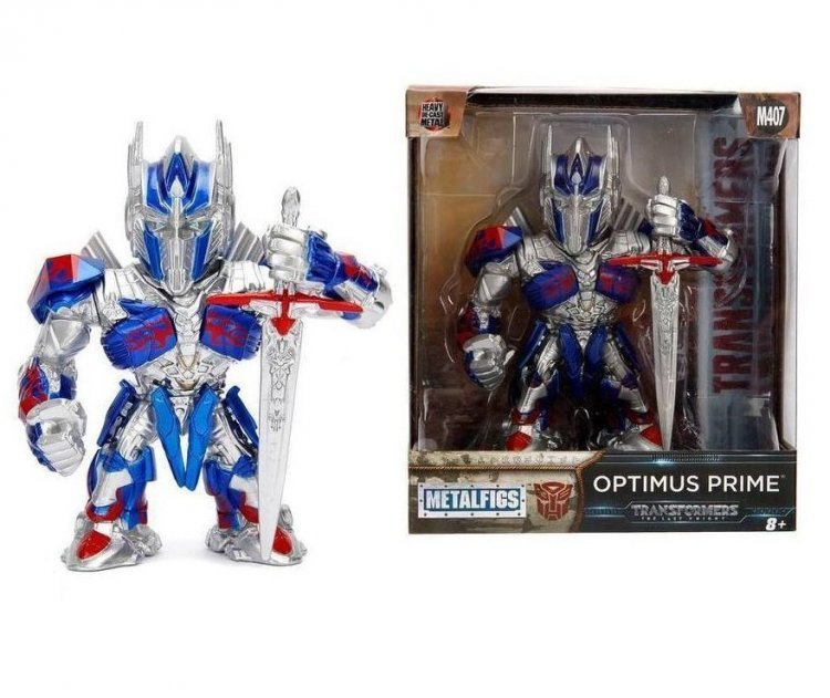 Фигурка Jada Toys Metals Die-Cast: Transformers - Optimus Prime