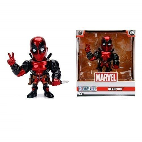 "Фигурка Jada Toys Metals Die-Cast: Marvel Deadpool Figure 4"" Red"
