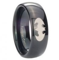 Кольцо Batman Logo Metal 10 мм №2